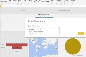Aprenda a incluir parâmetros no Microsoft Power BI